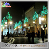 Im Freien Motiv-Lichter des Straßen-Pole-Feiertags-Dekoration-Weihnachten3d LED