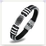 Armband van het Silicone van de Armband van de Juwelen van de manier de Rubber (LB201)