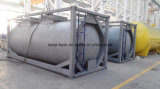 Tanque de armazenamento aprovado do combustível da boa qualidade 50000L de ASME com as válvulas no caminhão