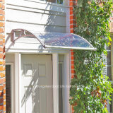 Shelter를 위한 DIY Assembly Transparent Awning Material