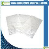2016 sac tissé blanc en plastique de couleur par pp, sac à sucre, constructeur de sachet en plastique, 50kg