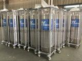 Industrieller flüssiger Sauerstoff-Stickstoff-Argon-Kohlendioxyddewar-Zylinder