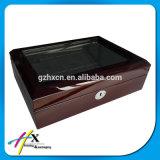 Коробка упаковки вахты новой конструкции изготовленный на заказ деревянная с крышкой окна