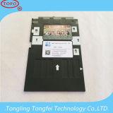 Imprimeur d'Epson d'impression de jet d'encre de bac à cartes d'identification de PVC L800