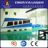 con la cortadora del laser de la fibra del cuadro 1500*3000m m 500W 1000W de Alemania Ipg Laser&Casting Lathe&Working