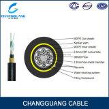 Todos os dieléctricos Auto-Suportam o cabo ao ar livre de fibra óptica da fibra óptica do cabo ótico de única modalidade da extensão do fio 100m de Aramid do cabo de Ing (ADSS)