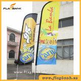Bandierina volante piuma/della bandiera personalizzata mostra esterna media