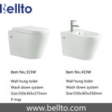 La parete ha appeso il Bidet della stanza da bagno degli articoli sanitari (419W)