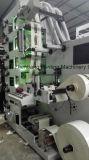 Máquina de impressão de Flexo para a etiqueta estreita da película do Web