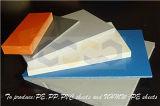 Feuille en plastique de PVC avec la résistance de la corrosion intense