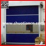 Schnelle Blendenverschluß PVC-automatische Innentür-Hochgeschwindigkeitsrollen-Tür (ST-001)