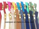 의류 또는 단화 또는 의복 또는 청바지 (Y 이)를 위한 금속 지퍼