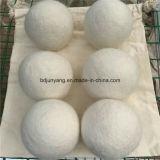 Billes attrayantes et des biens 100% de laines de blanchisserie de dessiccateur de feutre
