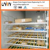 Estante de la diapositiva del uno mismo del flujo del cartón del almacén de almacenaje