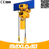 Controllo Pendent di prezzi bassi una gru Chain elettrica da 0.5 tonnellate & da 1 tonnellata & da 2 tonnellate & da 5 tonnellate