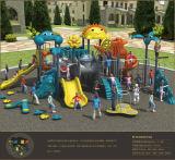 Crianças bonitos da série dos desenhos animados de Kaiqi campo de jogos ao ar livre das grandes (KQ50072A)