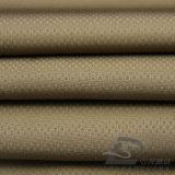 75D 250t 물 & 바람 저항하는 옥외 아래로 운동복 재킷에 의하여 길쌈되는 두 배 줄무늬 다이아몬드 격자 무늬 자카드 직물 100%년 폴리에스테 견주 직물 (E022)