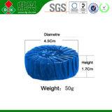 Nettoyeurs automatiques en gros de cuvette de toilette de la marque 50g d'OEM/bloc bleu de toilette