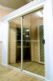 Раздвижные двери рамки хозяйственных цен поставкы тонкие алюминиевые