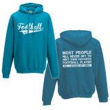 Фуфайка пуловера 100% тяжелым теплым связанная хлопком (A226)