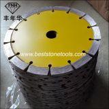 Лезвие вырезывания гранита этапа диаманта CB-9 сухое (105-235mm)