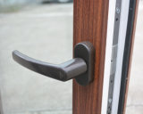 Окно Casement профиля Kz335 двойное бортовое цветастое UPVC с специальным краем