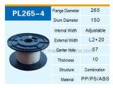 パッキングおよび配達のためのPP PSのABSプラスチック巻き枠