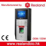Регулятор доступа систем посещаемости времени фингерпринта Realand биометрический