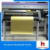 Longitud viva los 25m de la anchura los 50cm de la película/del vinilo del traspaso térmico del color del corte fácil para toda la tela