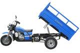 La mejor nueva motocicleta motorizada de la rueda del cargo tres de la cabina