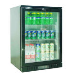 130liter escolhem o refrigerador do anúncio publicitário da barra da parte traseira de porta