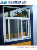 Populäres Style Powder Coated White Aluminum Profile für Sliding Window
