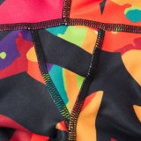 Pantalones de compresión de moda personalizada con bolsillo al por mayor