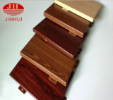 Панель фасада деревянного зерна нутряные алюминиевые/доска потолка конструкционных материалов здания