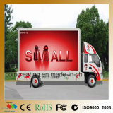 P6 signe mobile d'affichage vidéo polychrome de la publicité extérieure DEL