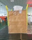 Sac en bloc de constructeur de tissu tissé par pp de FIBC 1 tonnes