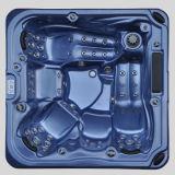 5 assentos 65 jorram Jacuzzi de 10 bombas da massagem das luzes 3 do diodo emissor de luz
