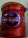 O vinil da corda de fio do aço inoxidável revestiu