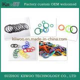 Joints de joints circulaires en caoutchouc de silicone de fabrication d'usine