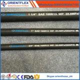 Mangueira hidráulica SAE 100 R15 da espiral do fio de aço da alta qualidade