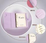 Caderno da tampa do plutônio A5/A6 com bolso de papel