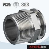 Metalen kap van de Aansluting van de Pijp van het roestvrij staal de Hygiënische (jn-FL4008)