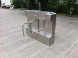 Porta retrátil Pedestrian da barreira da aleta, torniquete automatizado da porta de balanço