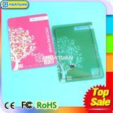 tarjeta elegante del PVC RFID del HF NTAG213 NFC de la aduana para la promoción y el pago