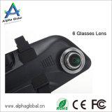 """4.5 """" камера 1080P FHD рекордера DVR автомобиля цифров заднего зеркала видео-"""
