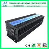invertitore puro intelligente di potere di onda di seno di 5000W DC12/24V (QW-P5000)
