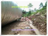 電流を通されるQ345によって波形を付けられる管の排水渠の熱いすくい