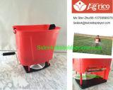 (WSP-01) Máquina de semear manual, propagador de fertilização operado manual