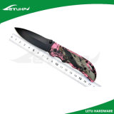 Cuchillo de caza Pocket de la maneta de aluminio del camuflaje que acampa