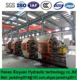 Boyau en caoutchouc hydraulique de spirale de fil d'acier (ajustage de précision de pipe En856-4sh)